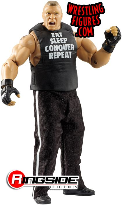 The Mattel WWE Elite 30 Brock Lesnar!
