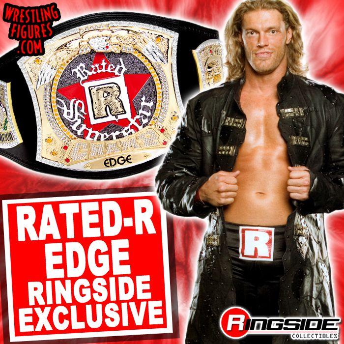 WWE Edge /'Rated R Superstar/' Custom Shirt For Mattel Figures.