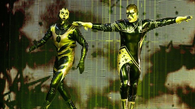 Goldust and Stardust team again and become more evil.