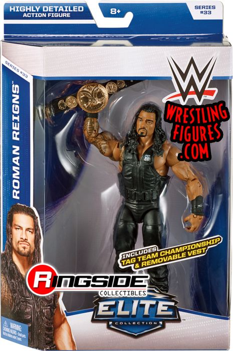 Mattel WWE Elite 33 Roman Reigns
