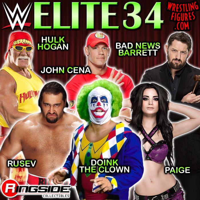 Mattel WWE Elite 34!