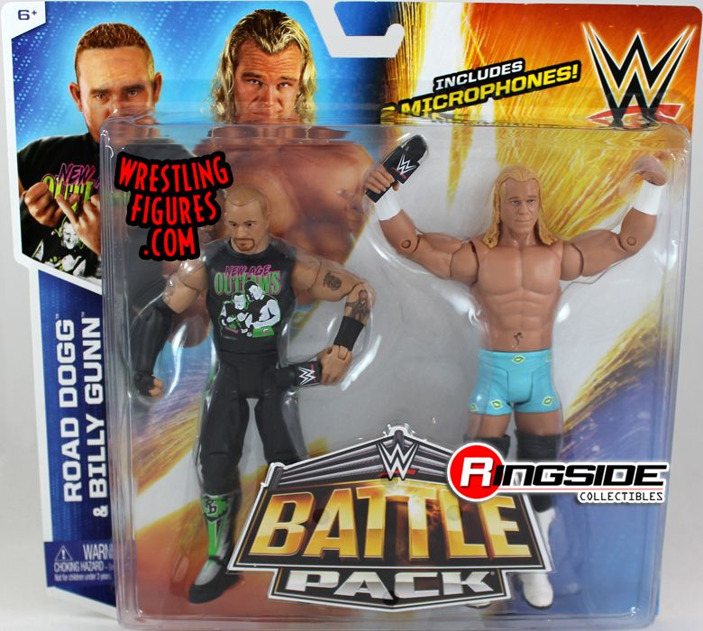 Mattel WWE Battle Packs 32 Road Dogg & Billy Gunn