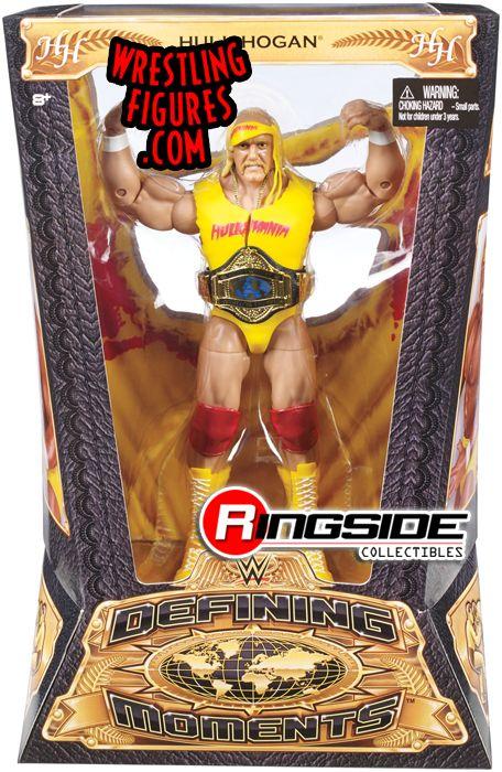 Mattel WWE Defining Moments Hulk Hogan wrestling action figure!