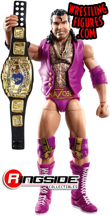 The Mattel WWE Defining Moments Razor Ramon!