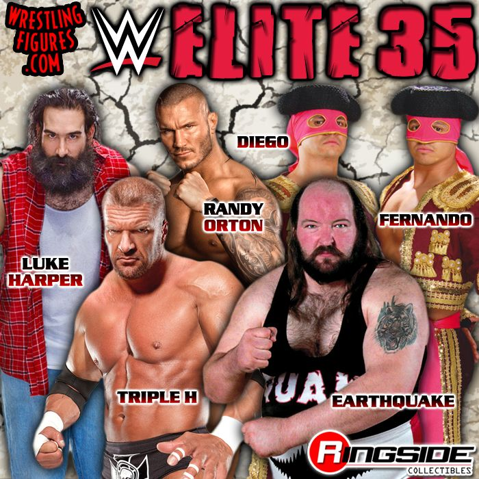Mattel WWE Elite Series 35!