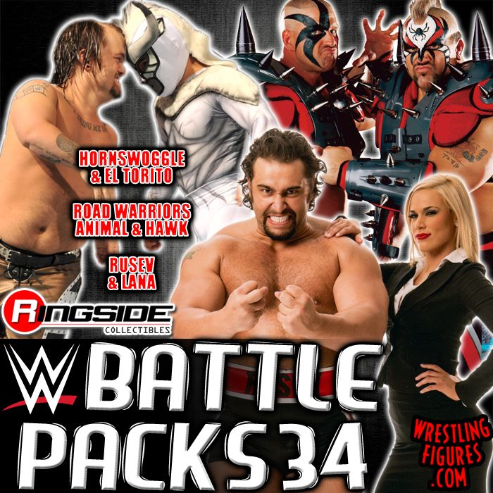 Mattel WWE Battle Packs 34!