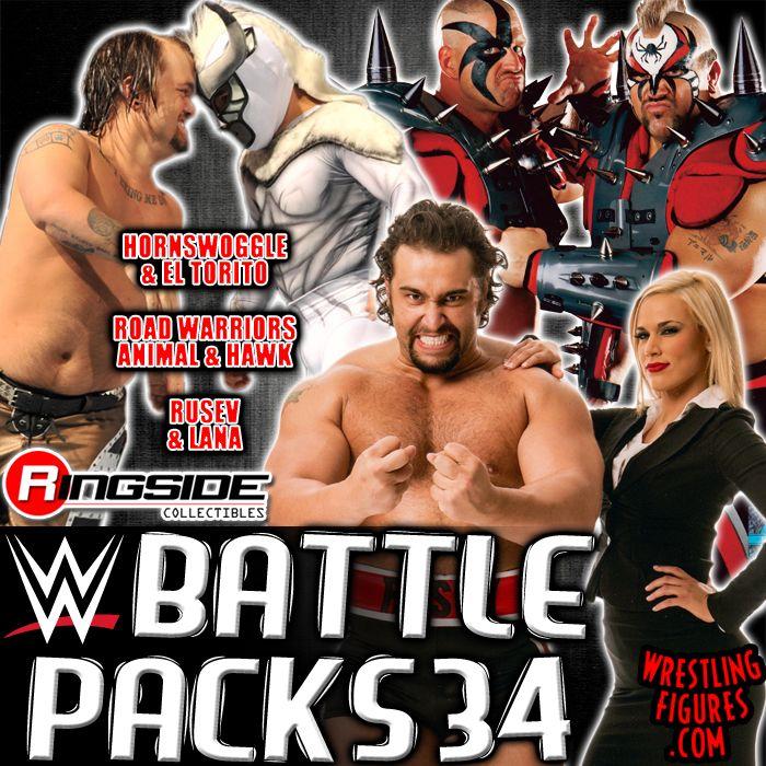 Mattel WWE Battle Packs 34!