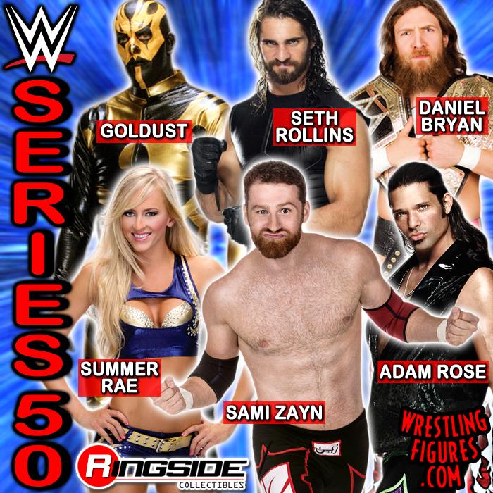 Mattel WWE Series 50!