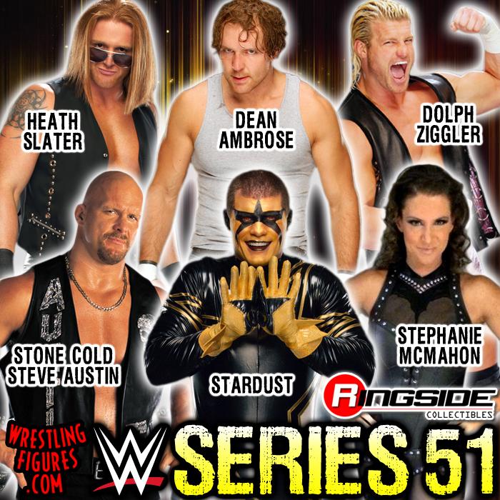 Mattel WWE Series 51!