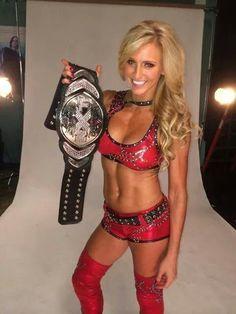 Mattel WWE Charlotte Flair wrestling figure!