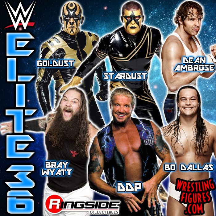 Mattel WWE Elite 36!