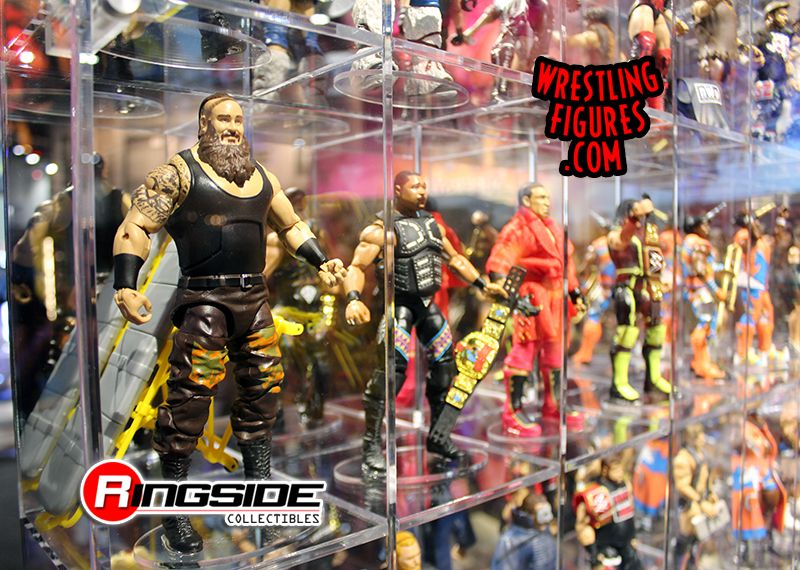 San Diego Comic Con 2017 Mattel WWE Display Panel