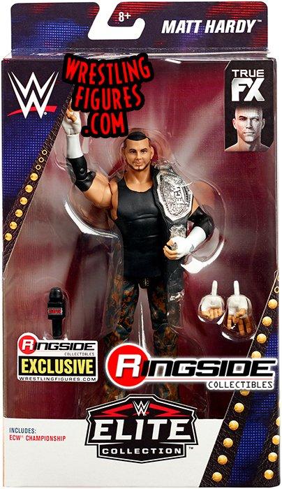 WWE Mattel Matt Hardy ECW Ringside Elite Series FIGURE and HANDS ONLY loose