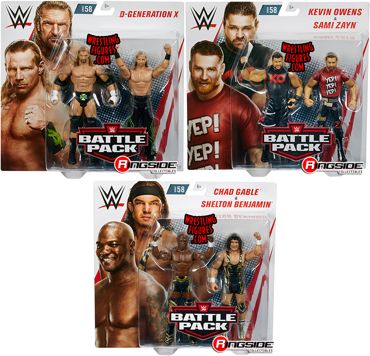 WWE D-GENERATION X TRIPLE H ROAD DOGG DX BATTLE PACK SERIES 45 WRESTLING FIGURE