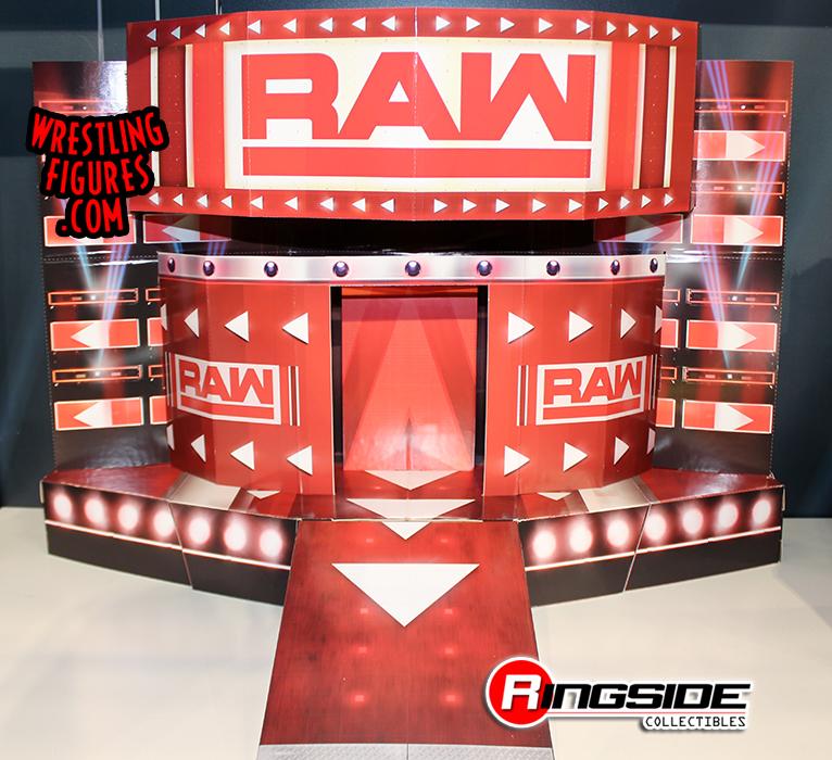 Raw Entrance Stage-Pop Up Wrestling Action Figure Accessoires
