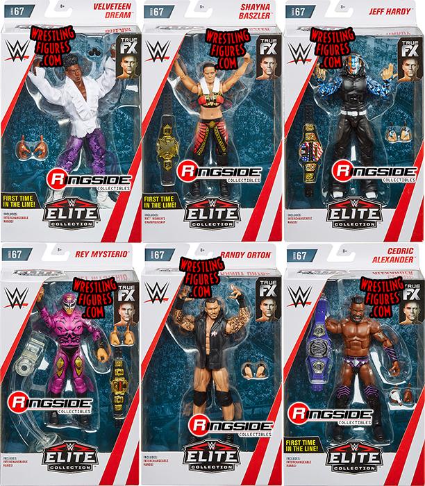 WWE SERIES 1 TEENYMATES SINGLE FIGURE RANDY ORTON