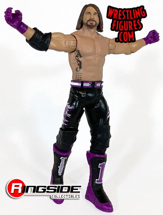 WWE Mattel AJ Styles série 97 Basic Figure