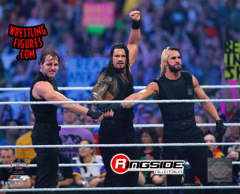The Shield Wrestlemania 30 Wwe Wrestling 8x10 Photo