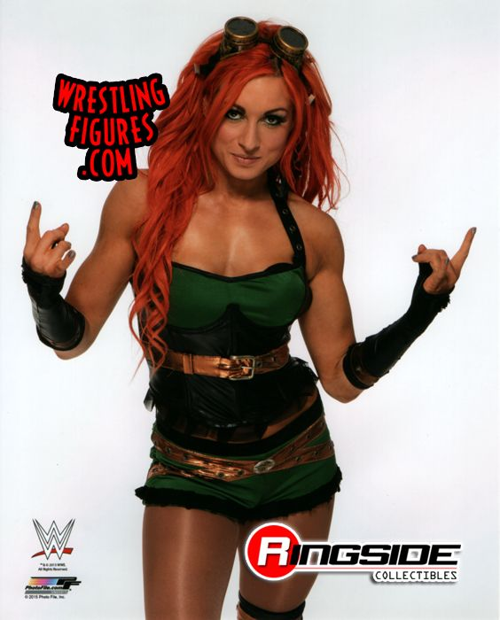 Becky Lynch Wwe Wrestling 8x10 Photo Ringside Collectibles