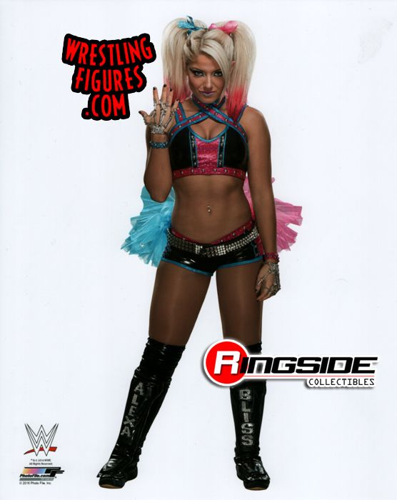 Alexa Bliss Harley Quinn Wwe Wrestling 8x10 Photo