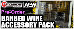Jazwares AEW Barbed Wire Accessory Pack!