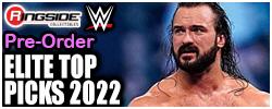 Mattel WWE Elite Top Picks 2022!