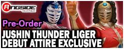 Debut Attire Jushin Thunder Liger - NJPW Exclusive!