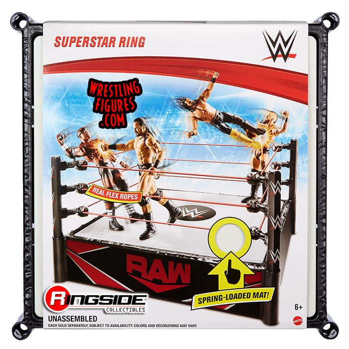 WWE Raw - Superstar Ring - Wrestling Ring & Playset by Mattel!
