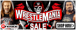 Wrestlemania Sale at RINGSIDE!