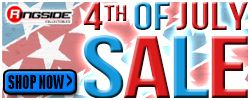 4th of July Sale at RINGSIDE!