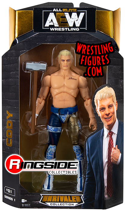 WWE Elite Collection Cody Rhodes Action Figure