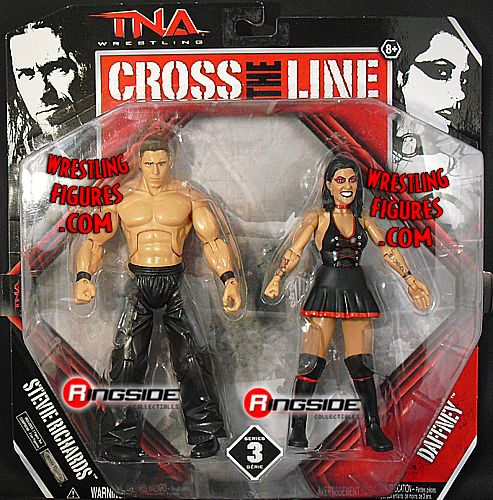 Dr Stevie Amp Daffney Tna Cross The Line 2 Packs 3