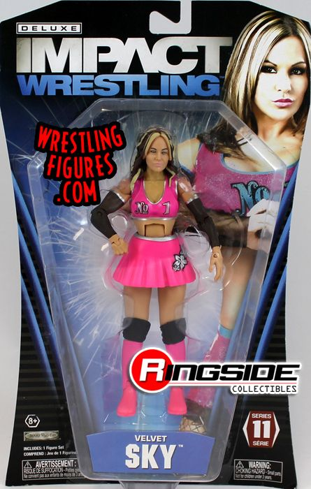 Velvet Sky Tna Deluxe Impact 11 Ringside Collectibles