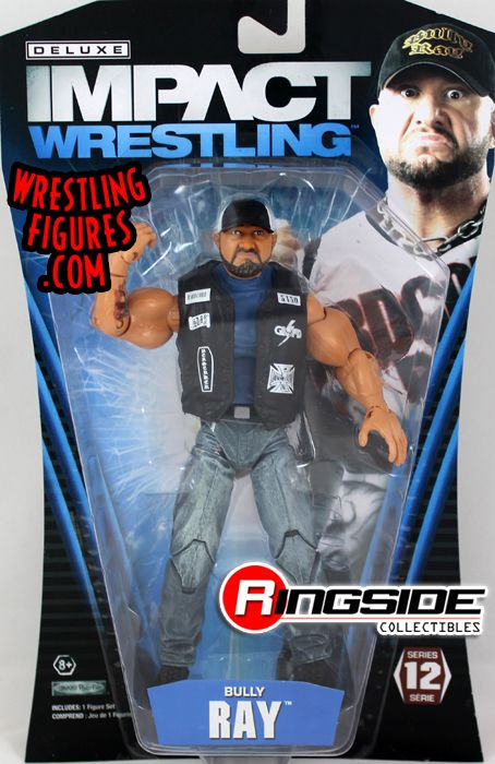 Bully Ray Tna Deluxe Impact 12 Tna Toy Wrestling Action