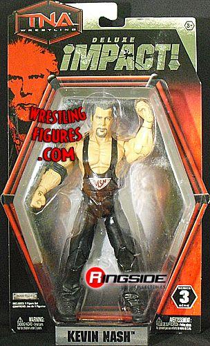 Jakks Pacific TNA Wrestling Deluxe Impact Series 3 Kevin Nash Action Figure