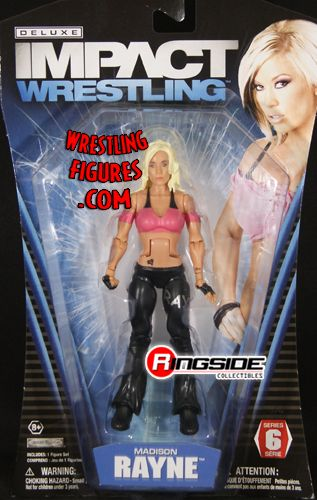 Madison Rayne Tna Deluxe Impact 6 Ringside Collectibles