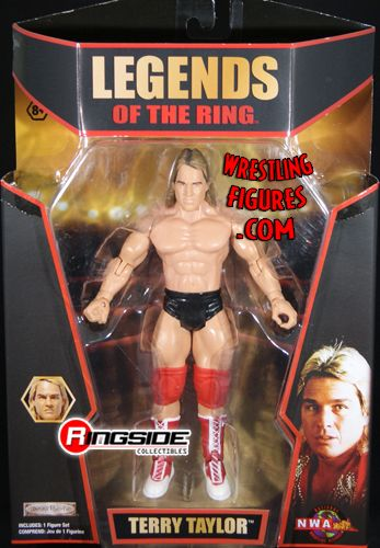 Terry Taylor Legends Of The Ring Tna Deluxe Impact 6