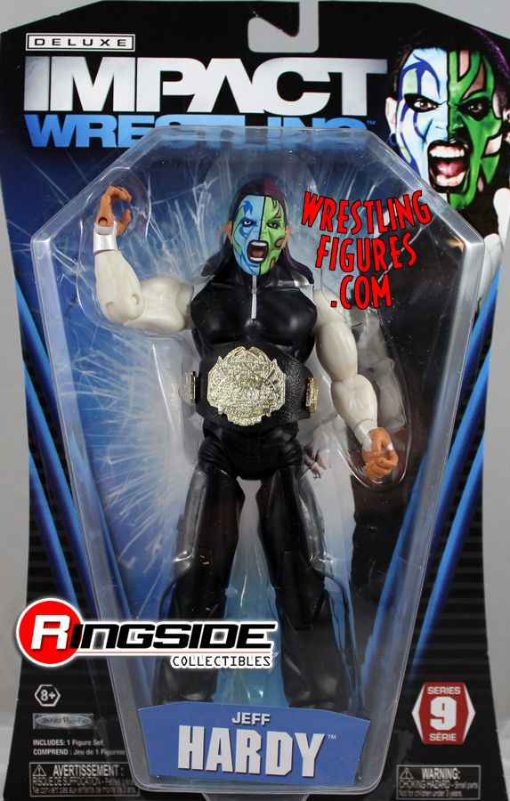 Jeff Hardy Tna Deluxe Impact 9 Ringside Collectibles