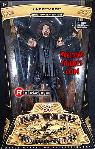 Undertaker Wwe Defining Moments 4 Ringside Collectibles