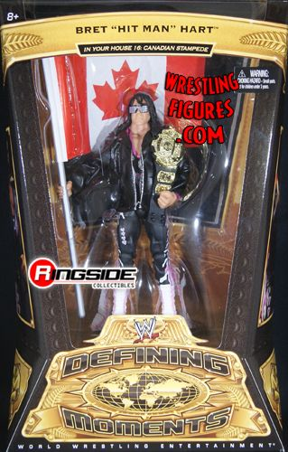 Bret Hart Wwe Defining Moments 5 Ringside Collectibles