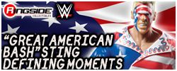Great American Bash Sting - Mattel WWE Defining Moments!