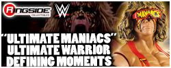 Mattel WWE Ultimate Maniacs Defining Moments Warrior!