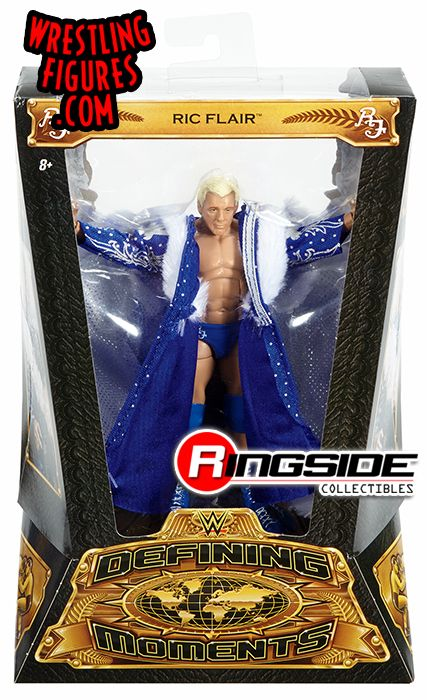 Quot Blue Robe Quot Ric Flair Wwe Defining Moments Wwe Toy