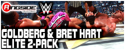 Mattel WWE Bret & Goldberg - Elite 2-Pack!