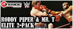 Mattel WWE Mr. T & Roddy Piper - WWE Elite 2-Pack!