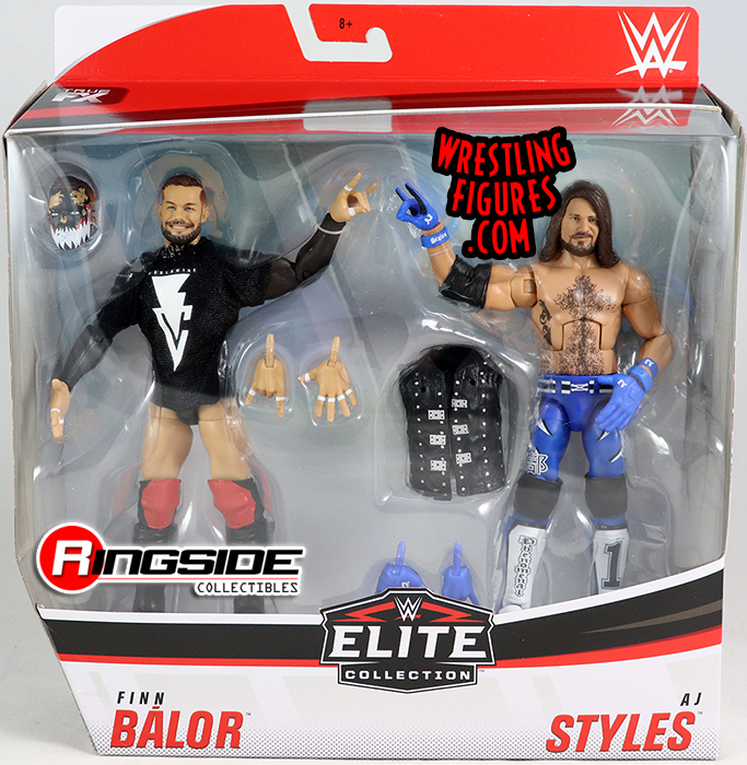Mattel WWE Elite Série Top Pick AJ Styles Figure