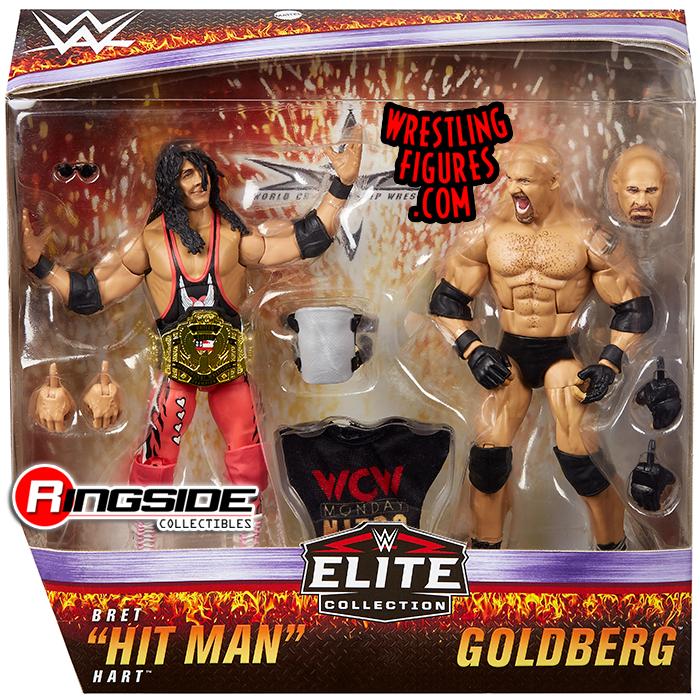 Elite Wrestling Figures Used Multiple Series WWE Mattel