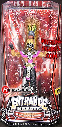 Mattel WWE Entrance Greats Rey Mysterio!