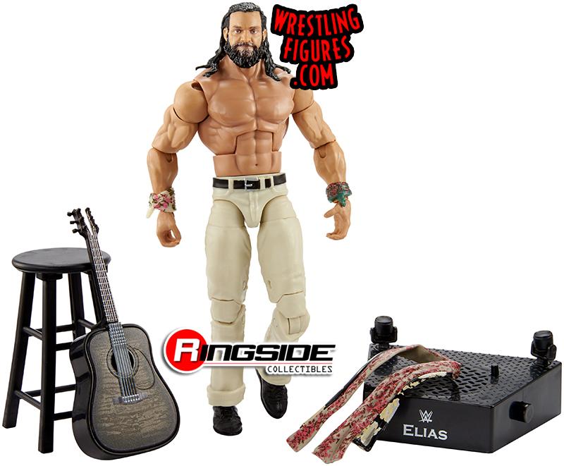WWE MATTEL Wrestling Action Figure Entrance Greats Elias elite Guitar sampson