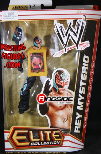 Rey Mysterio Wwe Elite 13 Ringside Collectibles